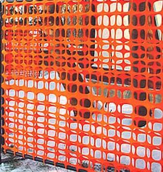 Lehké výstražné plastové pletivo výška 1,2 m x 50 m