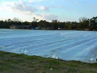 Zakrývací netkaná textilie 17g, role 3,2x100m bílá