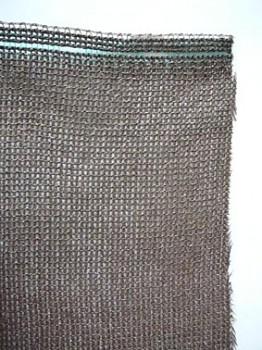 65% Hnedá tieniaca tkanina š 156 cm na mieru