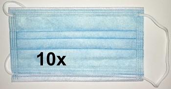 Rouška 3-vrstvá balení 10ks