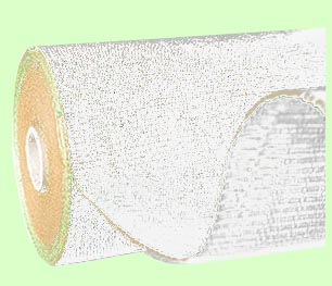 Tkaná školkařská textilie 100g/m2 role 162cm x 100m - bílá