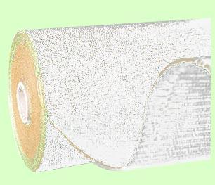 Tkaná textília bílá 162cm x 100m 100g/m2